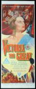 VICTORIA THE GREAT Long Daybill Movie poster 1937 Anna Neagle Norman McMurray art