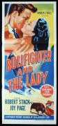 BULLFIGHTER AND THE LADY Original Daybill Movie Poster Robert Stack Joy Page