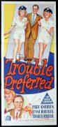 TROUBLE PREFERRED Original Daybill Movie Poster Brian Donlevy Ann Richards