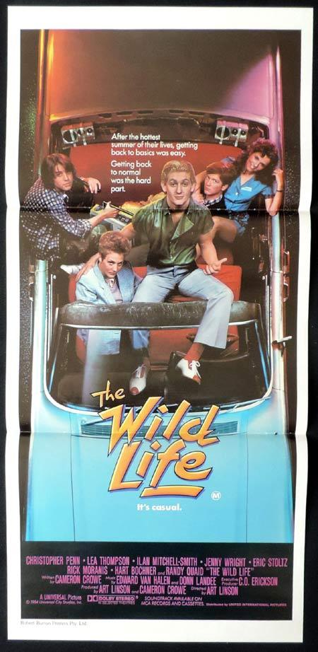 WILD LIFE Original Daybill Movie Poster Lea Thompson Christopher Penn