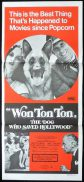 WON TON TON Original Daybill Movie Poster Bruce Dern Madeline Kahn Art Carney