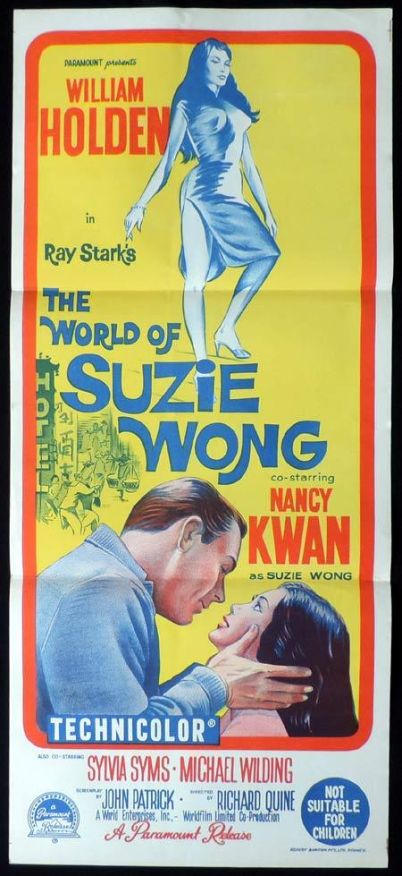 The World of Suzie Wong, Richard Quine, Nancy Kwan, William Holden, Michael Wilding, Sylvia Syms, Laurence Naismith
