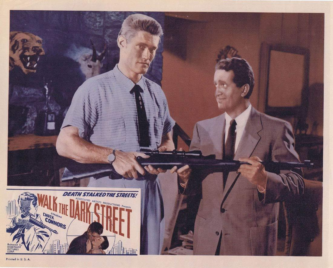 WALK THE DARK STREET Lobby Card 6 Chuck Connors Don Ross Regina Gleason