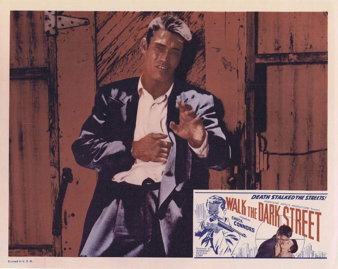 WALK THE DARK STREET Lobby Card 7 Chuck Connors Don Ross Regina Gleason