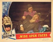 WIDE OPEN FACES Lobby Card 2 Joe E. Brown Jane Wyman Alison Skipworth 1938