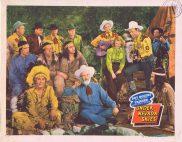 UNDER NEVADA SKIES Vintage Lobby Card Roy Rogers