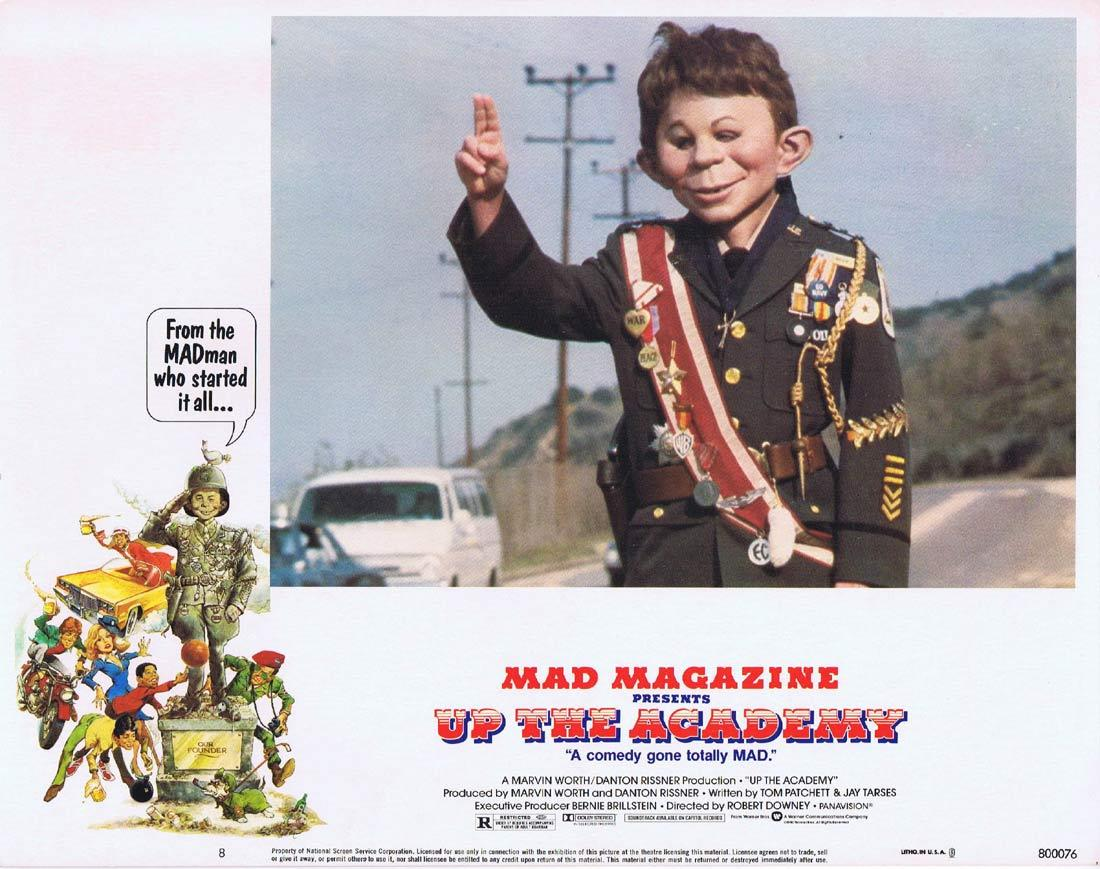 UP THE ACADEMY Vintage Lobby Card 8 Mad Magazine