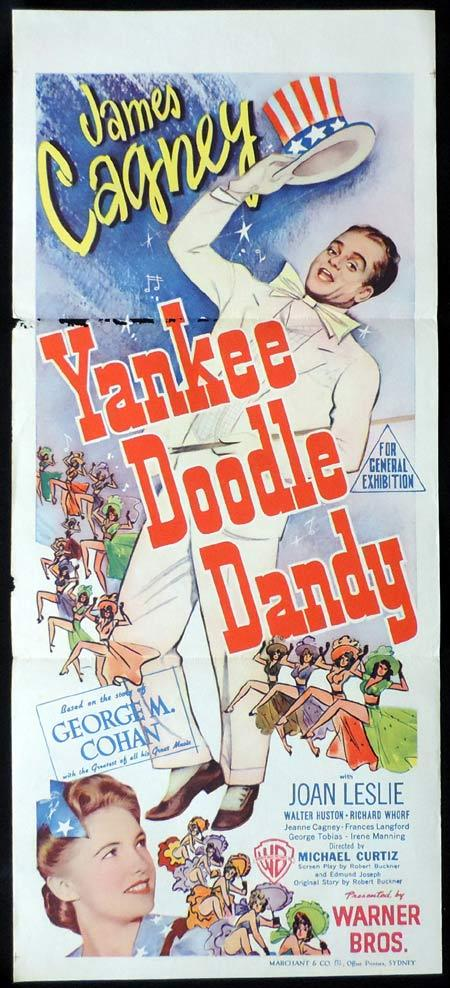 Yankee Doodle Dandy, Michael Curtiz, James Cagney Joan Leslie Walter Huston Richard Whorf
