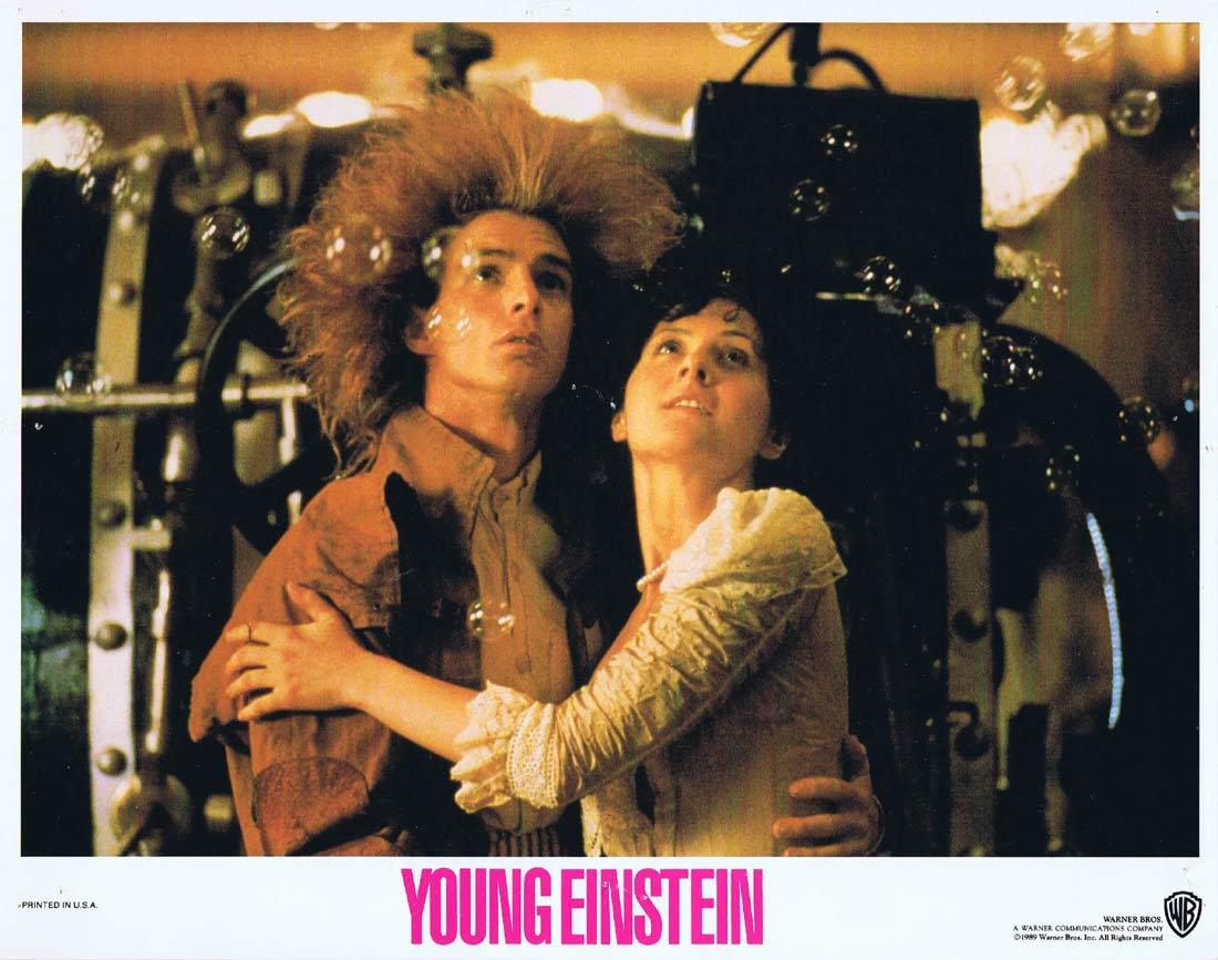 YOUNG EINSTEIN Original Lobby Card 6 YAHOO SERIOUS Albert Einstein