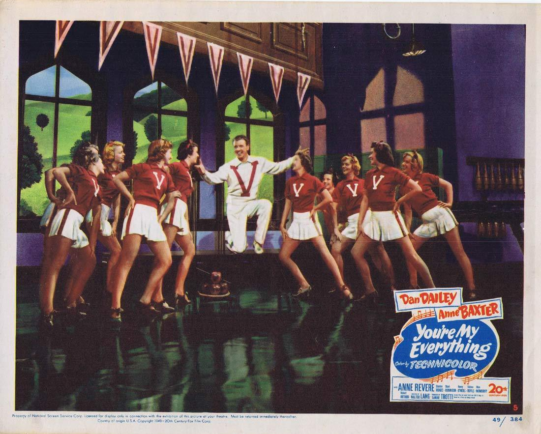 YOU'RE MY EVERYTHING Original Lobby Card Dan Dailey Ann Baxter