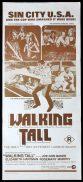 WALKING TALL Original Daybill Movie Poster Joe Don Baker Elizabeth Hartman