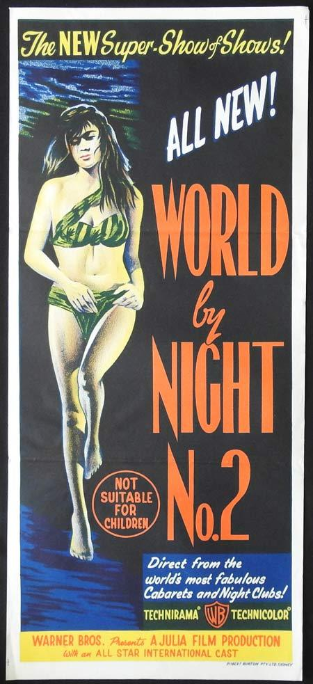 WORLD BY NIGHT No.2 Original Daybill Movie Poster