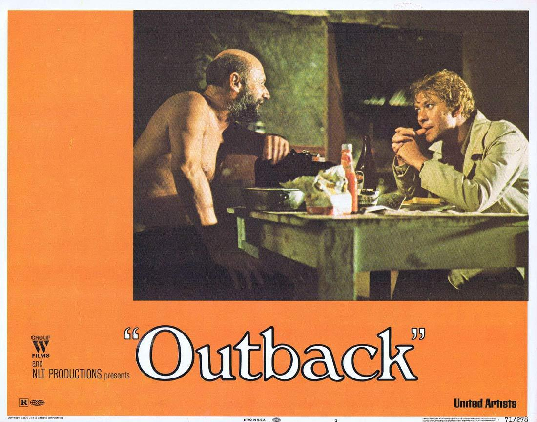 WAKE IN FRIGHT aka OUTBACK Lobby Card 3 1970 Chips Rafferty Donald Pleasence