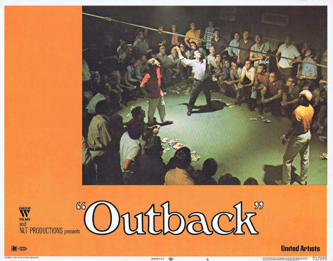 WAKE IN FRIGHT aka OUTBACK Lobby Card 5 1970 Chips Rafferty Donald Pleasence
