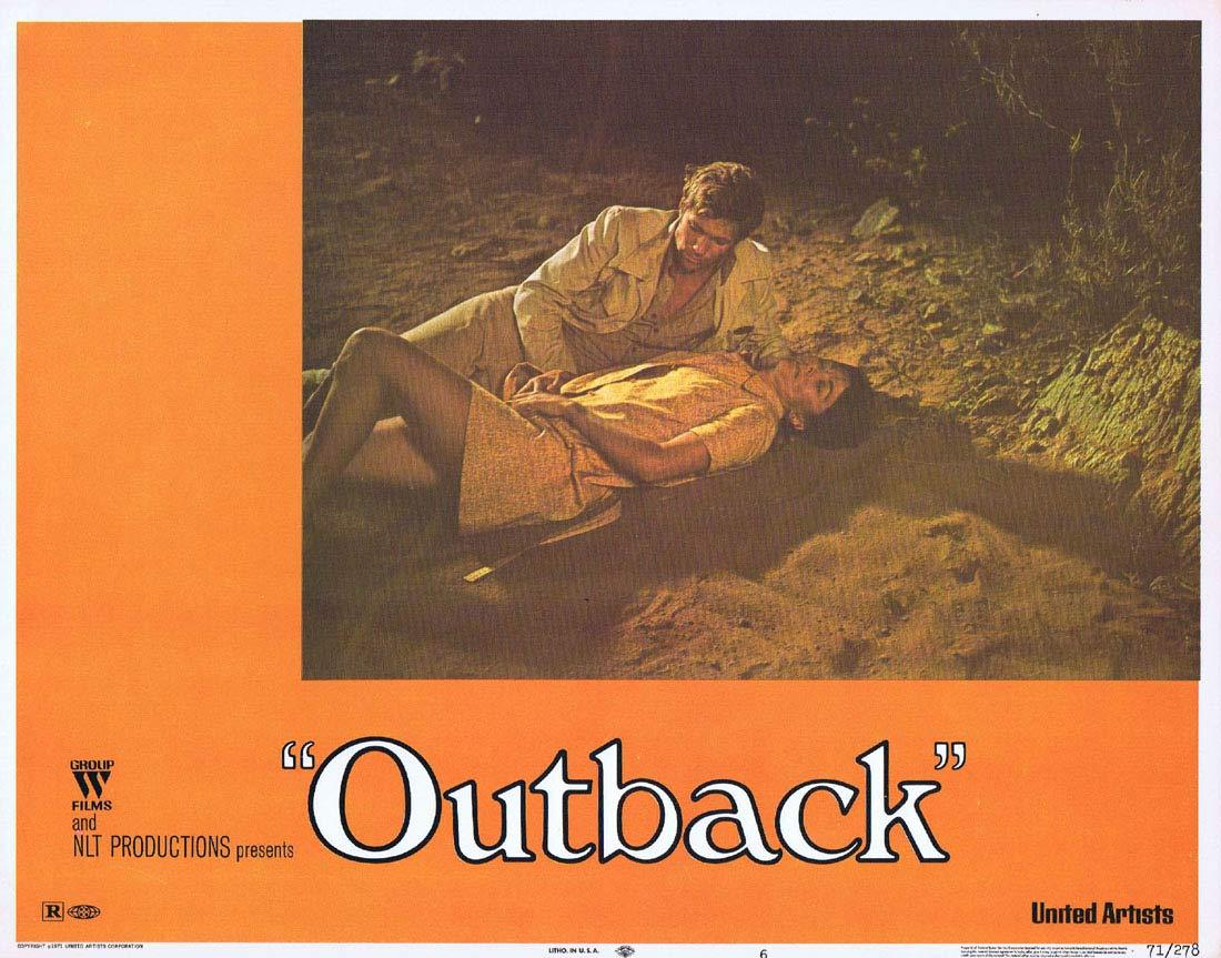 WAKE IN FRIGHT aka OUTBACK Lobby Card 6 1970 Chips Rafferty Donald Pleasence
