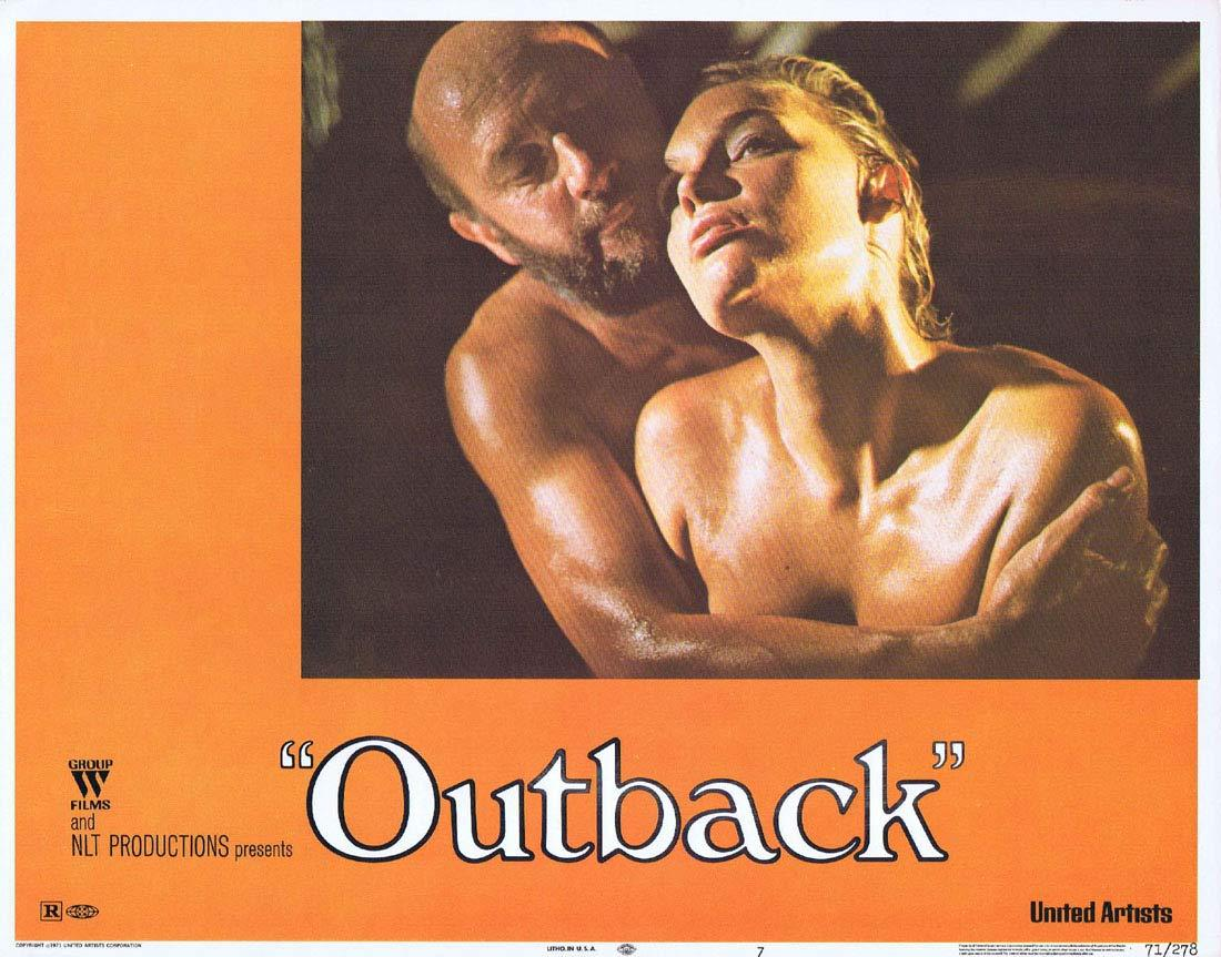 WAKE IN FRIGHT aka OUTBACK Lobby Card 7 1970 Chips Rafferty Donald Pleasence