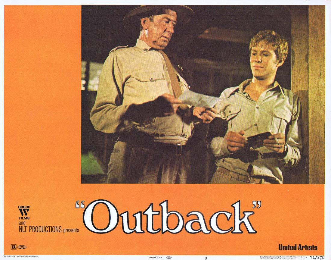WAKE IN FRIGHT aka OUTBACK Lobby Card 8 1970 Chips Rafferty Donald Pleasence