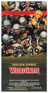 WILDCATS Original Daybill Movie Poster Goldie Hawn LL Cool J Varsity Football