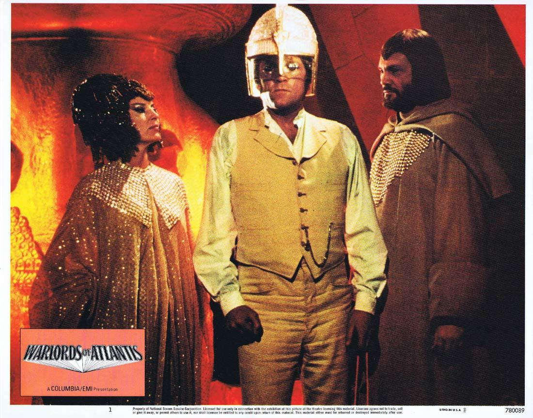 WARLORDS OF ATLANTIS Lobby Card 1 Doug McClure Science Fiction