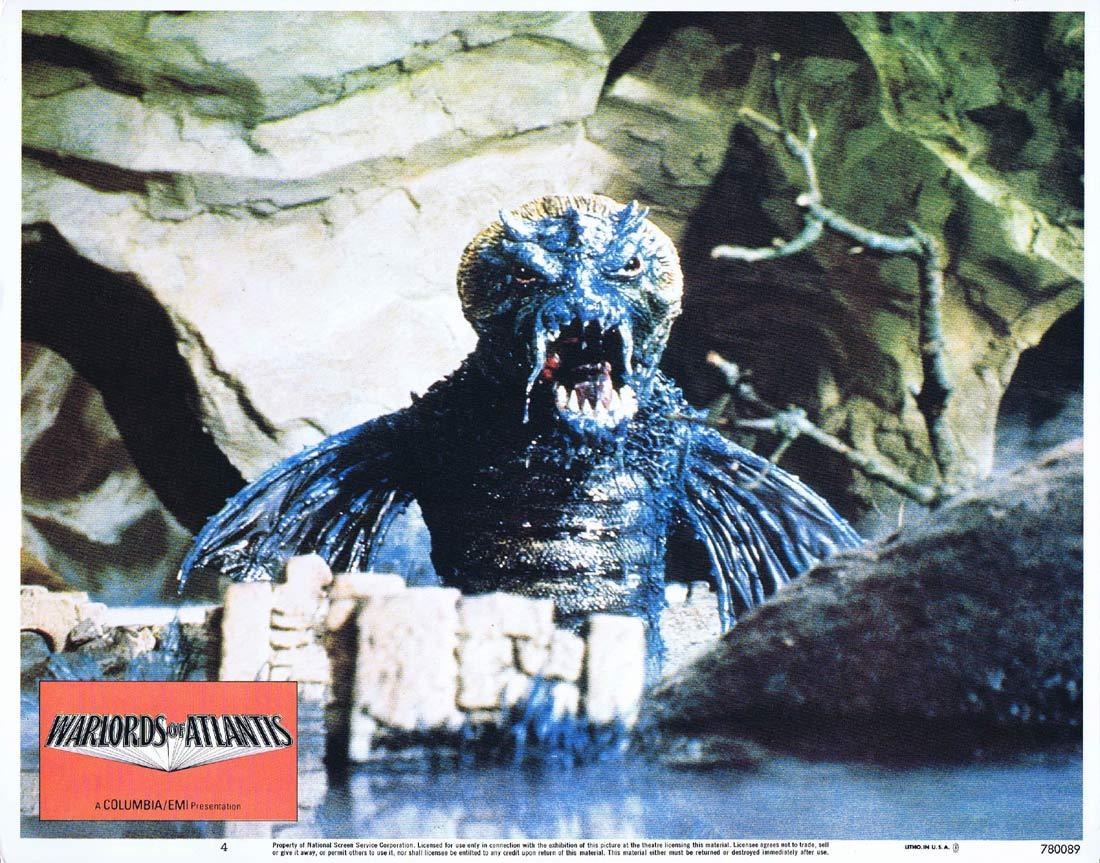 WARLORDS OF ATLANTIS Lobby Card 4 Doug McClure Science Fiction