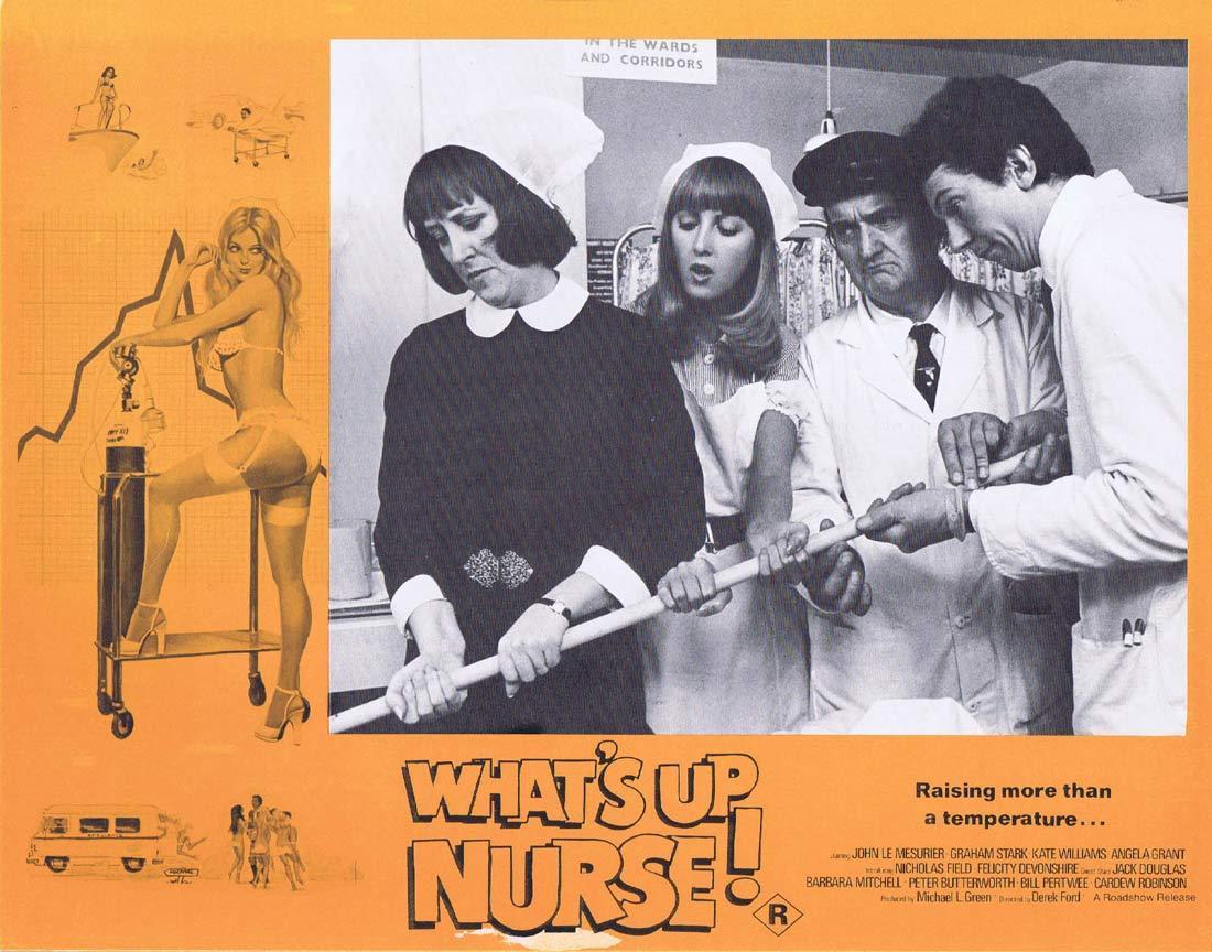 WHAT'S UP NURSE Original Lobby Card 3 Kate Williams