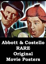 Abbott and Costello Movie posters