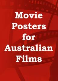 Movie posters for Australian Films