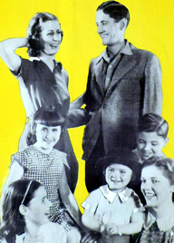 Seven Little Australians Daybill Movie poster