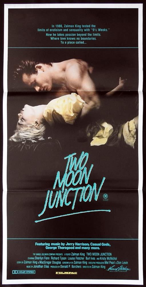 TWO MOON JUNCTION Original Daybill Movie poster Sherilyn Fenn Richard Tyson