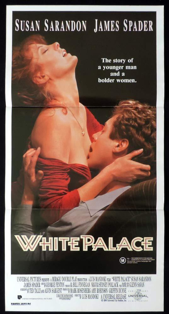 WHITE PALACE Daybill Movie poster Susan Sarandon James Spader Jason Alexander
