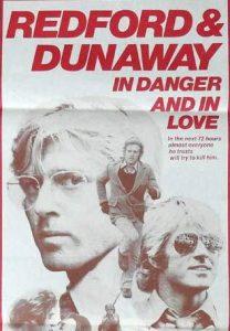 3 DAYS OF THE CONDOR Daybill Movie poster – Original or Reissue? image