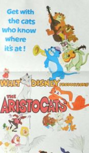 THE ARISTOCATS Daybill Movie Poster Original or Reissue? image