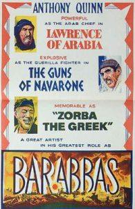 BARABBAS Daybill Movie Poster Original or Reissue? image