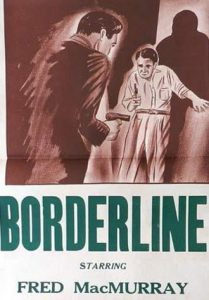 BORDERLINE Daybill Movie Poster Original or Reissue image
