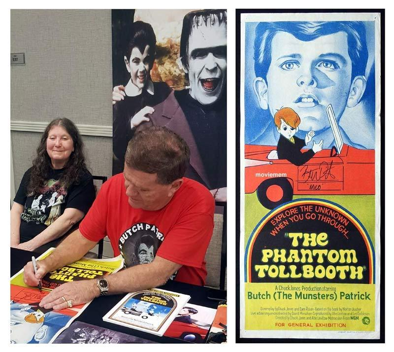 THE PHANTOM TOLLBOOTH Original Daybill Movie Poster Autograph Butch Patrick