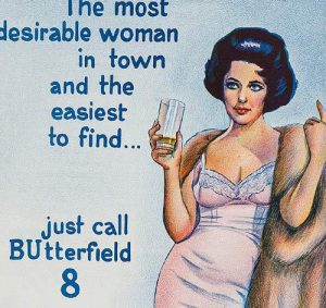BUtterfield 8 Daybill: Original or Re-Issue? image
