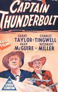 CAPTAIN THUNDERBOLT Australian Daybill – Original or Reissue image