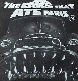 THE CARS THAT ATE PARIS: Original or Reissue Daybill? image