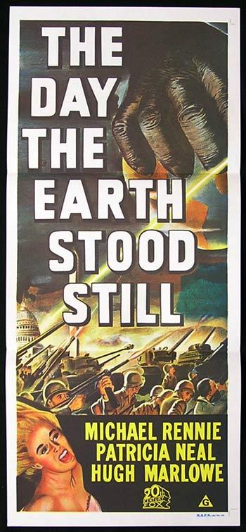 DAY THE EARTH STOOD STILL 1970sR daybill Movie Poster