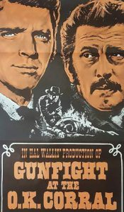 GUNFIGHT AT THE OK CORRAL Daybill Movie poster Original or Reissue? image