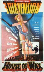 HOUSE OF WAX Daybill Movie Poster Original or Reissue? image