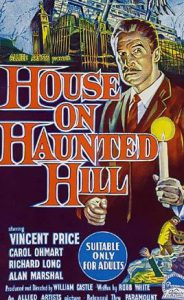 HOUSE ON HAUNTED HILL Daybill Movie poster – Why so rare? image