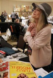 JUDY GEESON Signing Australian Daybill Movie Posters image