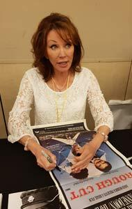 LESLEY ANNE DOWN Signing a ROUGH CUT Daybill Movie Poster image