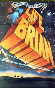 THE LIFE OF BRIAN Daybill Movie poster Original or Reissue image