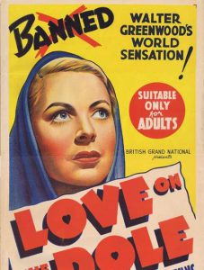 Daybill Cover art for Love on the Dole image