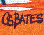 O.S.BATES aka OZ BATES Australian Movie Poster Artist image