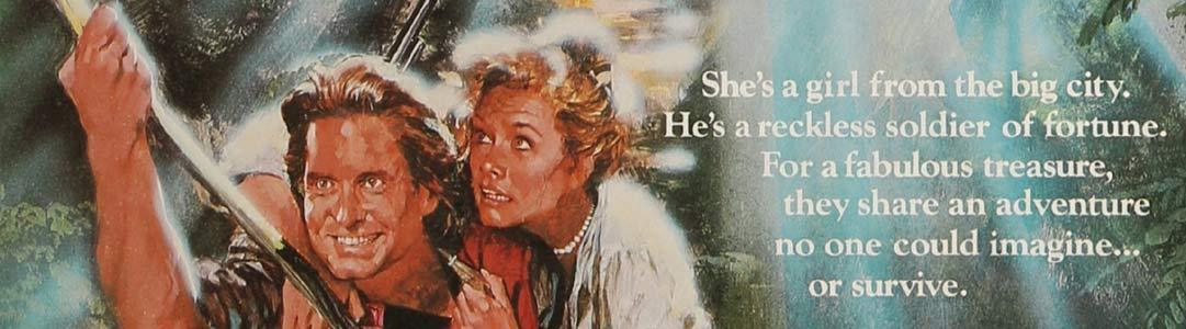 Romancing the Stone Daybill Movie poster