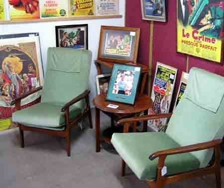 Movie Memoribilia Retail Outlet Lounge