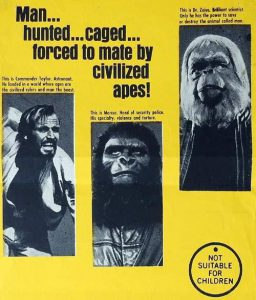 Planet of the Apes Daybill: Original or Re-Issue? image